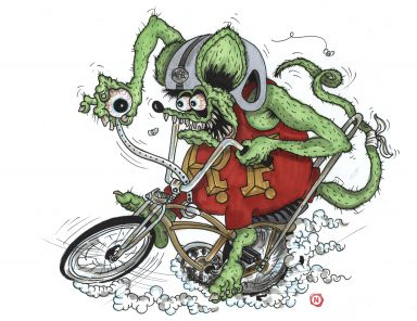 #11 Bicycle Fink