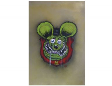#40 Fink Trophy - Kustom Gallery - Rat Fink - Pinstripes