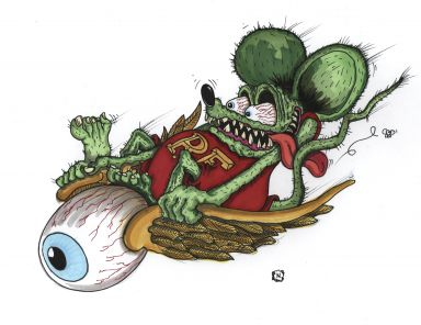 #5 flying Eyeball Fink
